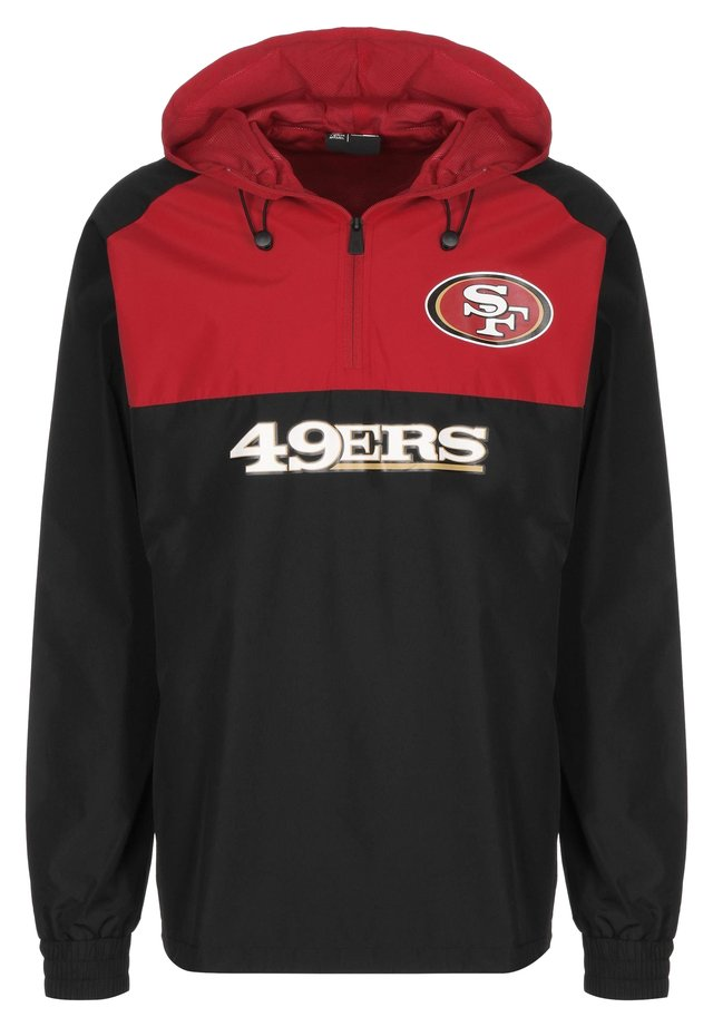 NFL SAN FRANCISCO 49ERS WINDBREAKER HERREN - Equipación de clubes - black/red