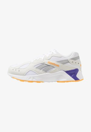 AZTREK - Trainers - white/true grey/gold/purple