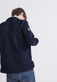 Superdry - SUPERDRY PATCH PATROL LONG SLEEVED SHIRT - Shirt - covert navy - 2