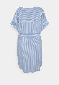 ONLY Carmakoma - CARBLUE DRESS - Day dress - colony blue/white - 6