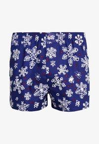 Lousy Livin Underwear - SNOW FLAKES - Boxer shorts - night blue - 3