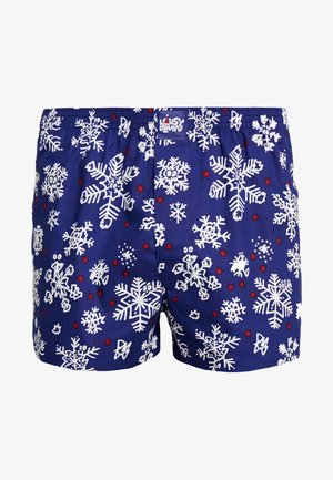 SNOW FLAKES - Boxer shorts - night blue