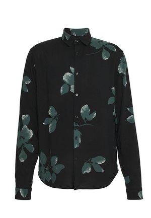 Overhemd - black/green