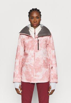 PRESENCE - Kurtka snowboardowa - silver pink