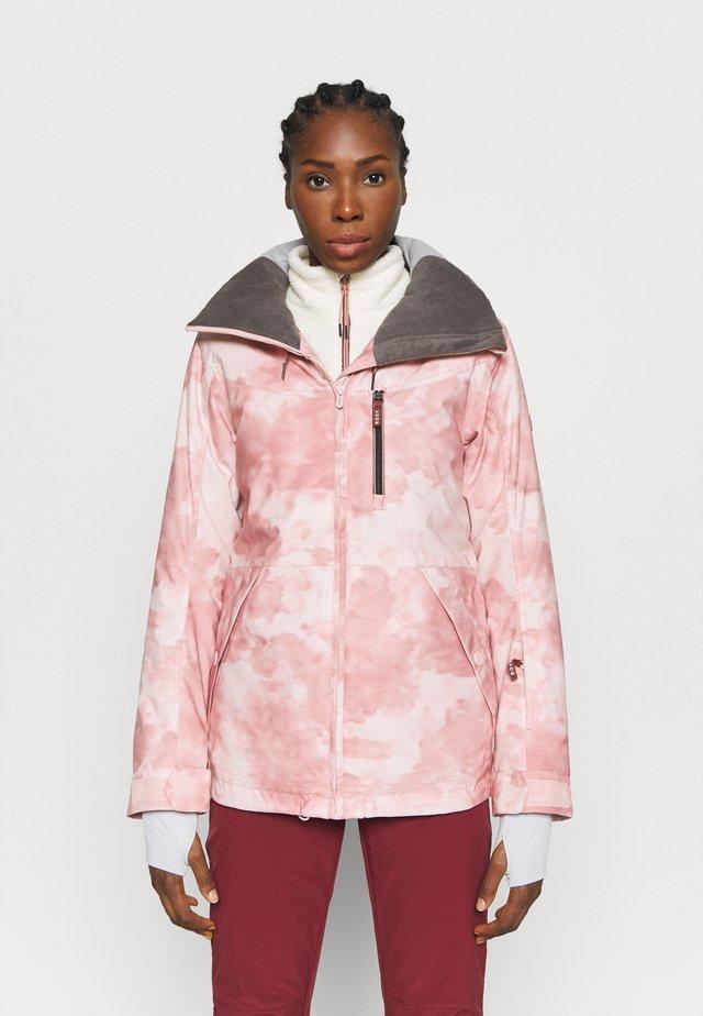 PRESENCE - Snowboard jacket - silver pink