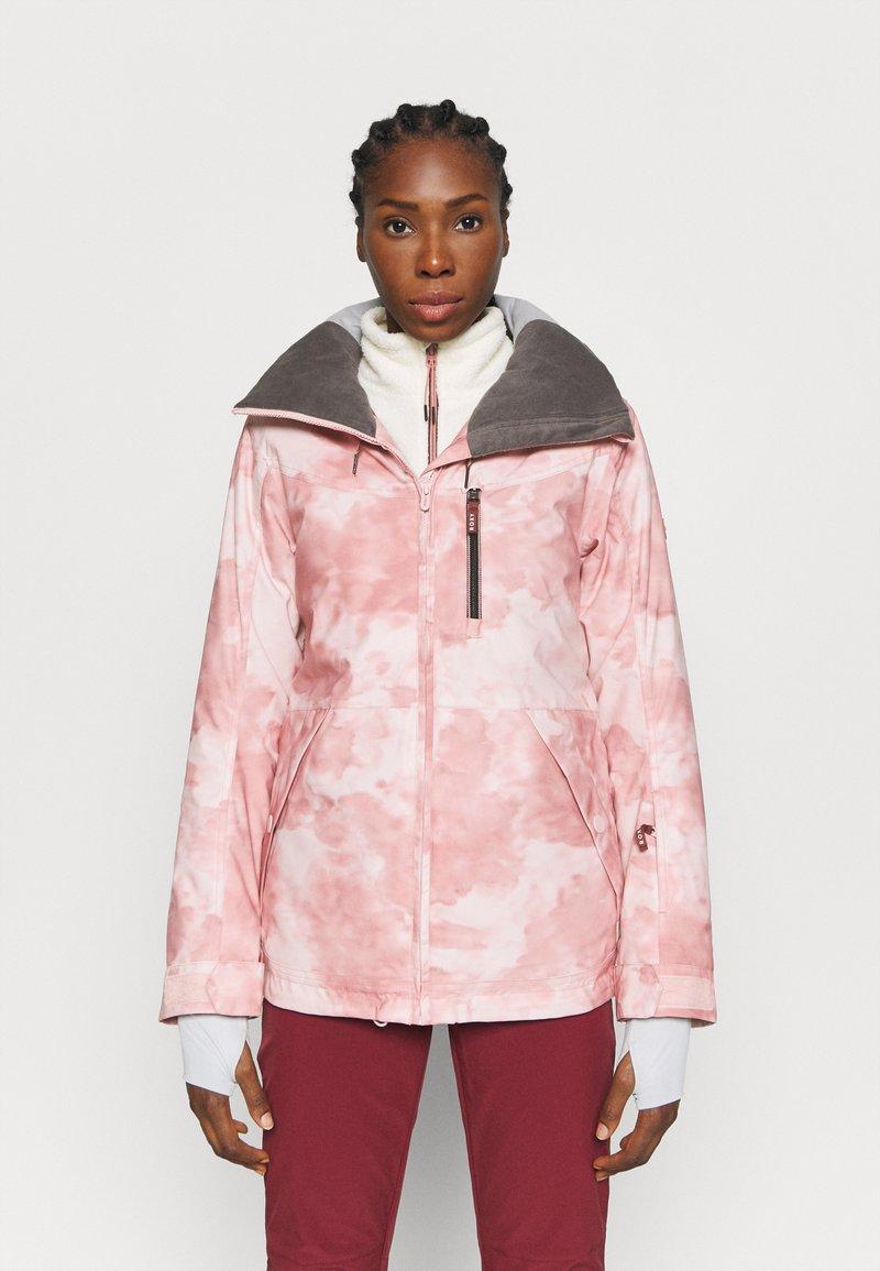 Roxy - PRESENCE - Snowboardová bunda - silver pink