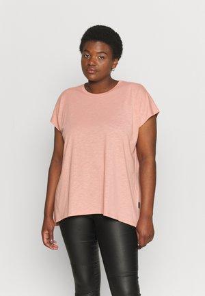 NMMATHILDE  - Basic T-shirt - cameo brown