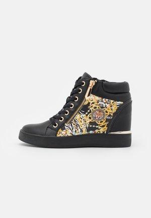 AILANNA - Sneakers hoog - black/multicolor