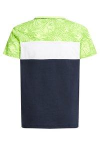 WE Fashion - MET COLOURBLOCK - Print T-shirt - yellow - 4