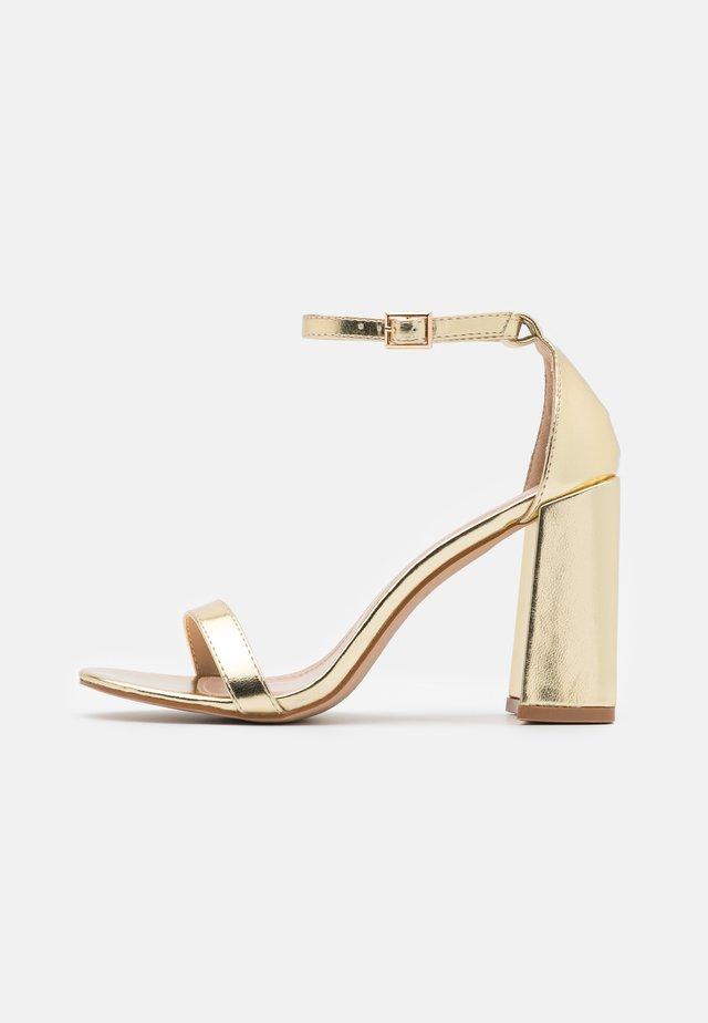 LORAINE - Sandals - gold