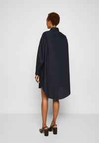 MM6 Maison Margiela - DRESS - Shirt dress - navy - 3