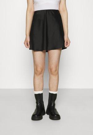 JANE SKIRT - Mini skirt - black