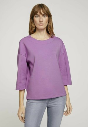 Sweater - heather lilac