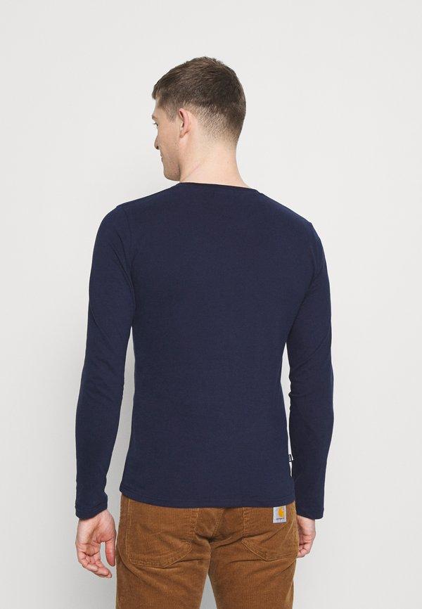 Superdry VINTAGE - Bluzka z długim rękawem - rich navy/granatowy Odzież Męska EUMM