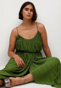 Violeta by Mango - RITA - Day dress - olivengrün - 6