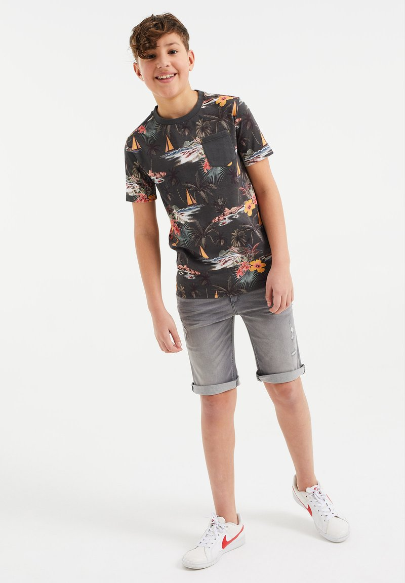 WE Fashion - MET DESSIN - T-shirt con stampa - all-over print
