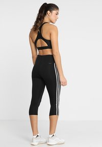 adidas Performance - 3/4 sportsbukser - black - 2
