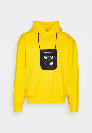 UNISEX POUCH HOODIE SET - Mikina s kapucí - yellow