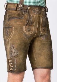 Stockerpoint - BEPPO - Shorts - brown - 3