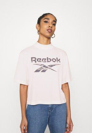 Print T-shirt - glass pink