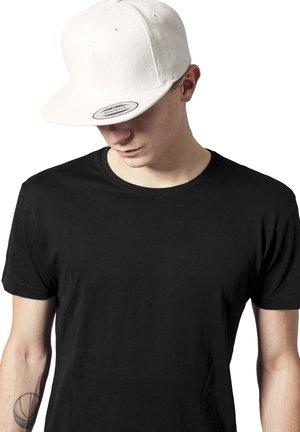 MELTON  SNAPBACK - Cap - white