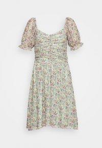 Vila - VIVOLETTE WILDY DRESS - Day dress - desert sage - 3