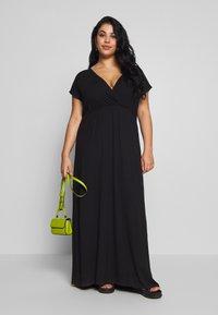 Zign Curvy - Maxi dress - black - 1