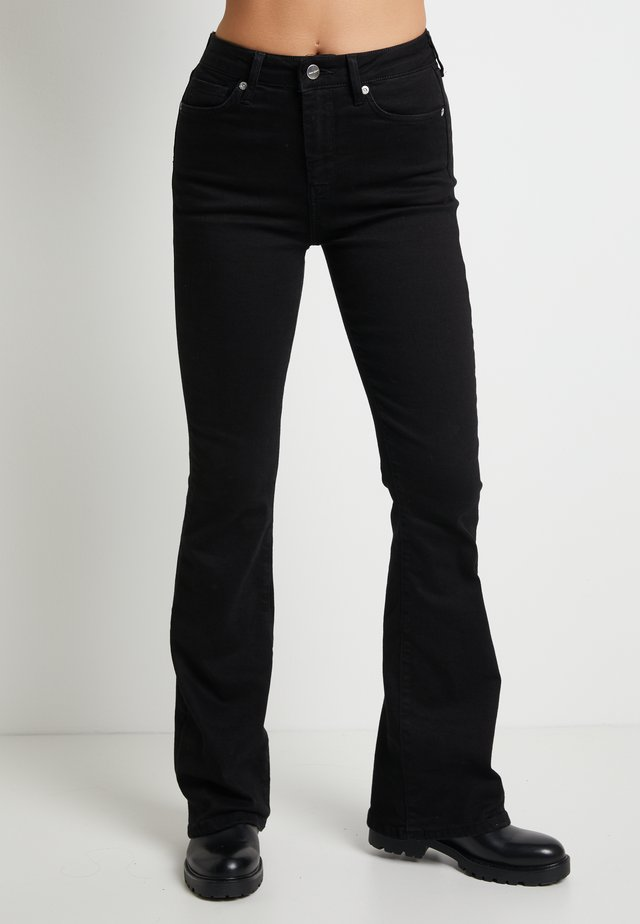 DUA LIPA X PEPE JEANS - Flared Jeans - black
