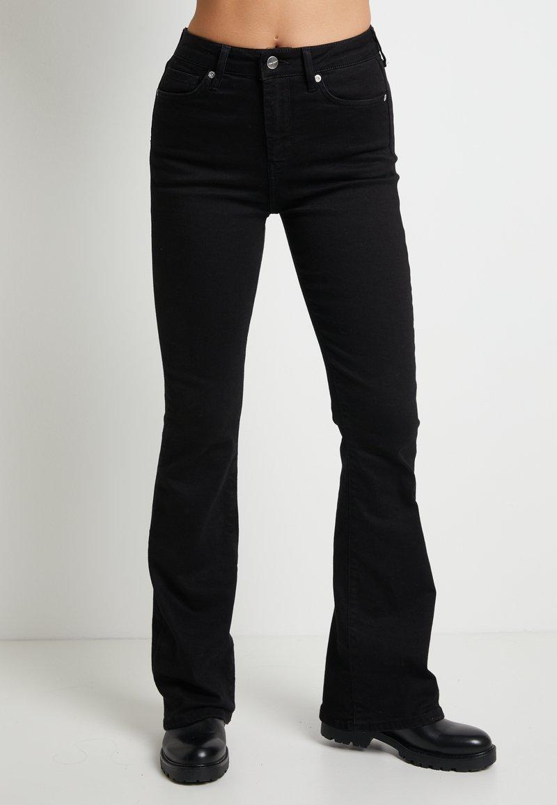 Pepe Jeans - DUA LIPA X PEPE JEANS - Flared Jeans - black