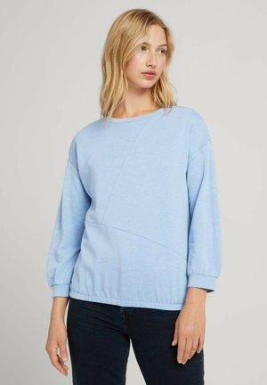 Long sleeved top - bel air blue
