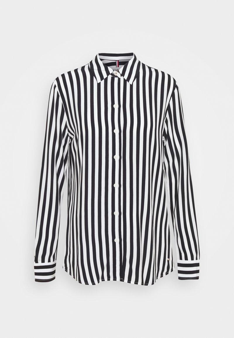 Tommy Hilfiger - REGULAR BLOUSE - Button-down blouse - banker/desert sky