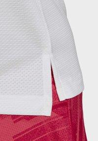 adidas Performance - TENNIS MATCH TANK TOP HEAT.RDY - Polo shirt - white - 7