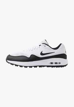 AIR MAX 1 G - Obuwie do golfa - white/black