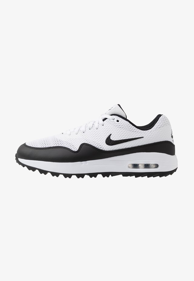 AIR MAX 1 G - Golf shoes - white/black