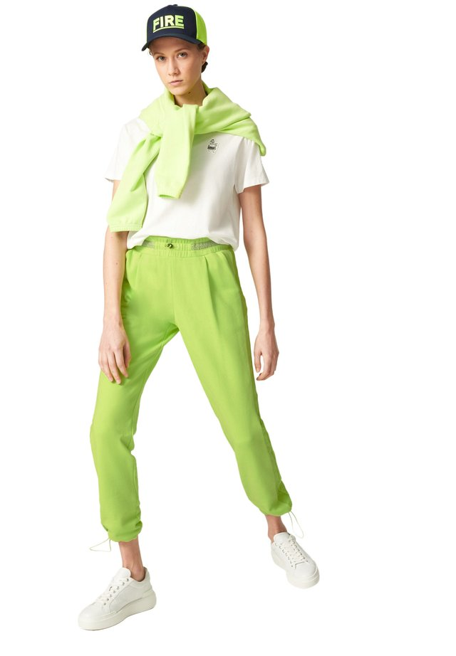 BESS - Tracksuit bottoms - lime