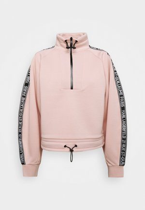 DOUBLE CROPPED - Sweatshirt - rose smoke