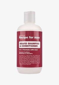 Recipe For Men - BEARD SHAMPOO AND CONDITIONER - Skægshampoo - - - 0