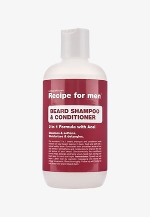 BEARD SHAMPOO AND CONDITIONER - Baardshampoo - -