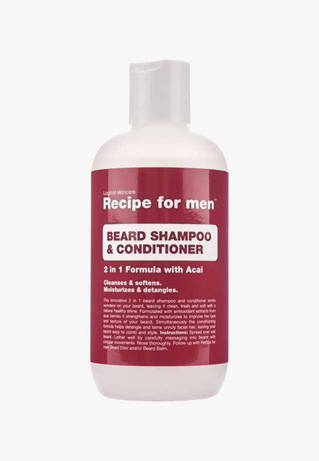 BEARD SHAMPOO AND CONDITIONER - Shampoing à barbe - -
