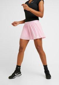 Nike Performance - MARIA SKIRT - Jupe de sport - pink rise/white - 0