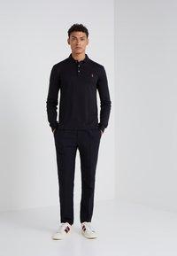 Polo Ralph Lauren - PIMA KNT - Polo shirt - black - 1