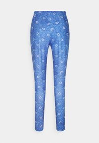 Loungeable - STAR CROPPED LONG SLEEVE WITH LEGGINGS - Pyjamas - blue - 4
