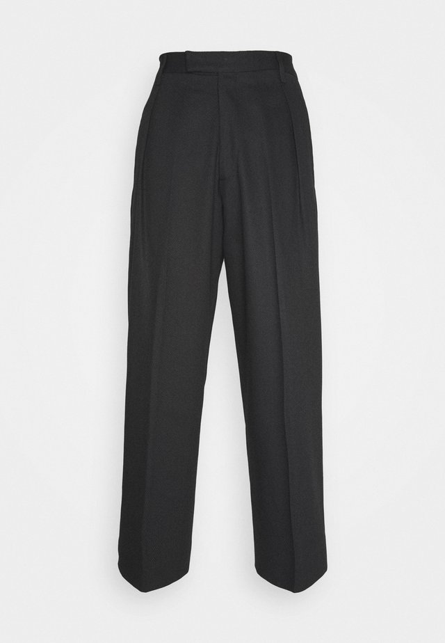 CHAPLIN TROUSERS - Pantalones - black