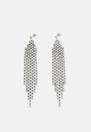 PCKATINKA EARRINGS - Kolczyki - silver-coloured