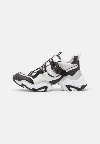 GEMINI - Sneakers laag - white/black