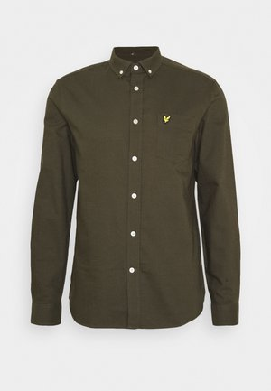 REGULAR FIT LIGHT WEIGHT OXFORD - Shirt - trek green