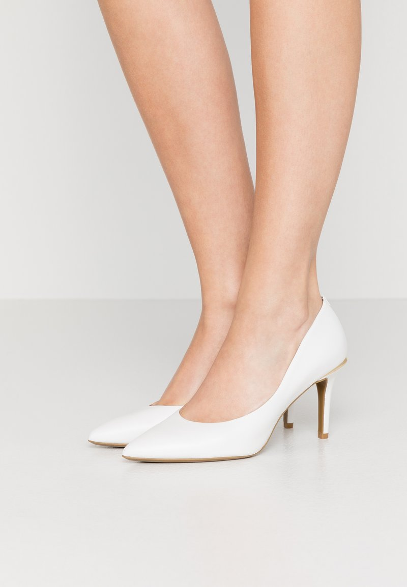 DKNY - RANDI - Høye hæler - white