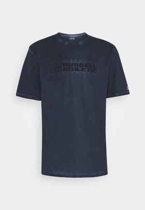NELSON - Print T-shirt - navy