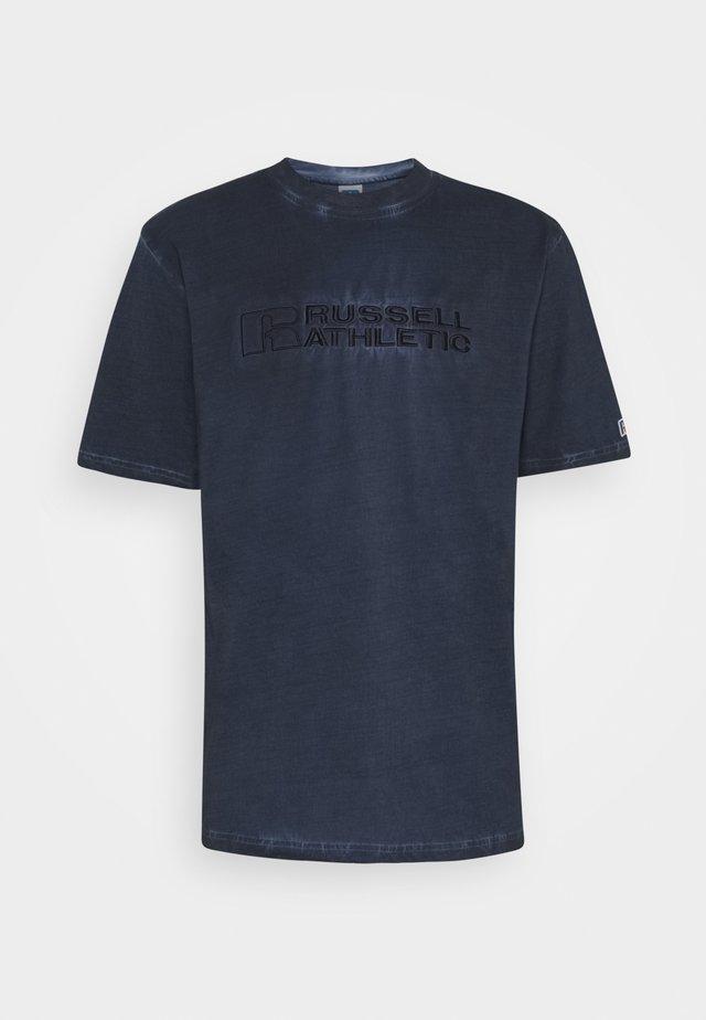 NELSON - T-shirt print - navy