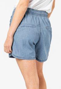 Sublevel - Denim shorts - middle-blue - 1